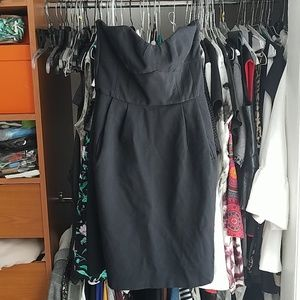 DVF Strapeless Dress